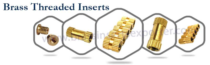 Brass Threaded Inserts Manufacturer | Threaded Brass Inserts