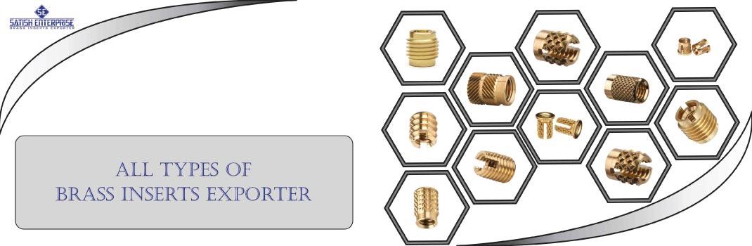 Brass Inserts Exporter