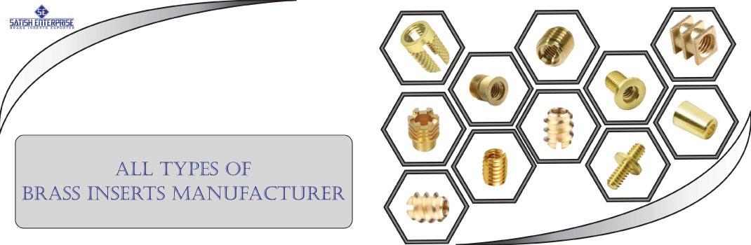 Brass Inserts Manufacturer