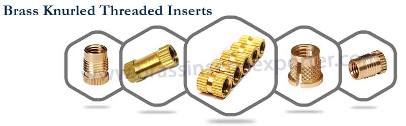 Brass Knurled Threaded Inserts